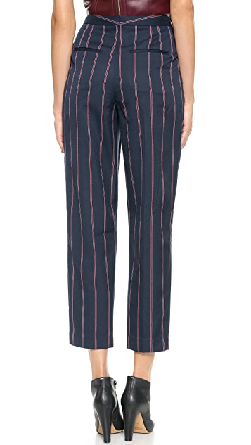 By Malene Birger Sega Striped Trousers