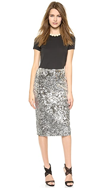 By Malene Birger Poliio Sequin Skirt