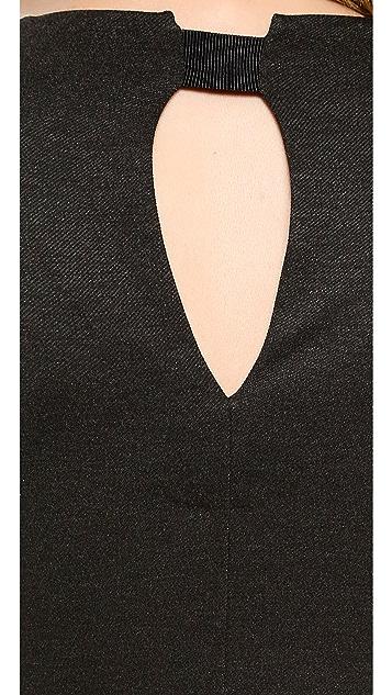 By Malene Birger Domina Stretch Longsleeve Dress