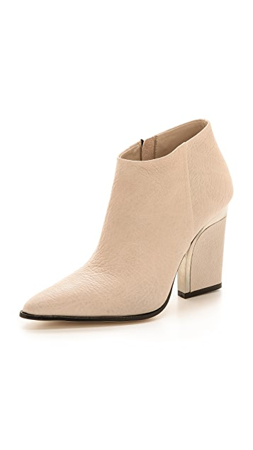 By Malene Birger Uffio Pointed Toe Booties