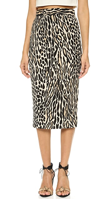 c484263b2d By Malene Birger Algras Leopard Skirt | SHOPBOP