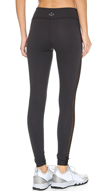 Beyond Yoga Slick Mesh Leggings