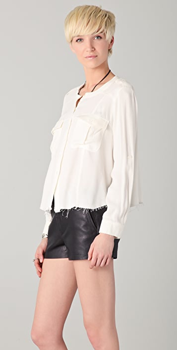 By Zoe Nine Button Down Shirt