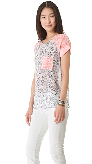 By Zoe Song Colorblock Tee