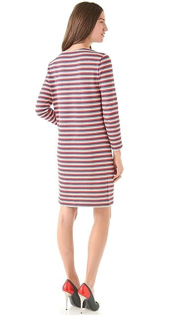 Cacharel Jersey Nid d'Abeille Dress