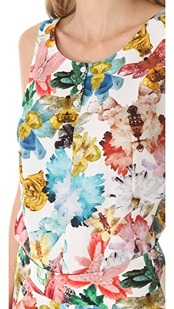 Cacharel Floral Print Tank