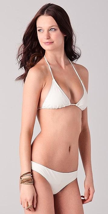 Cali Dreaming Tie Front String Bikini