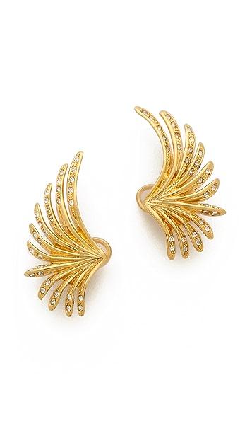 Ca & Lou Camilla Lobo Clip On Earrings