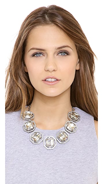 Ca & Lou Brune Serti Necklace