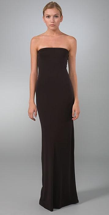 b3442bedea5e Calvin Klein Collection Strapless Gown
