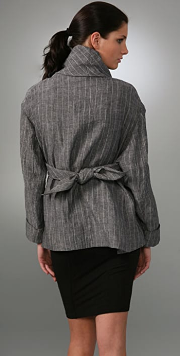 Calvin Klein Collection Pinstripe Jacket