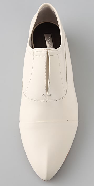 Calvin Klein Collection Remi No Lace Flat Oxfords