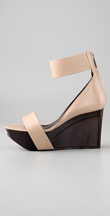 Calvin Klein Collection Paola Wedge Sandals