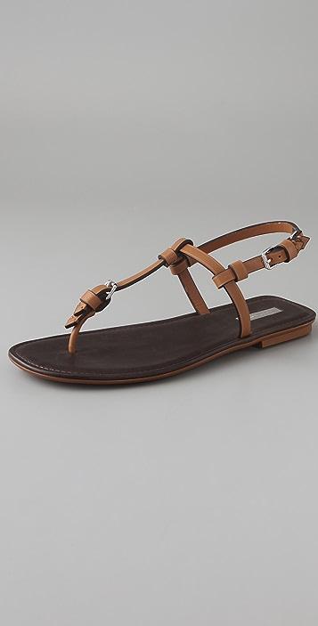 Calvin Klein Collection Lane Flat Thong Sandals