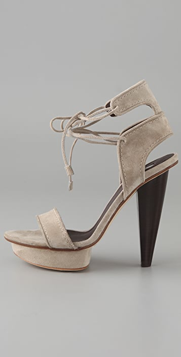 Calvin Klein Collection Katarina Suede Sandals