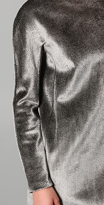 Calvin Klein Collection Improta Velvet Dress