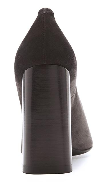 Calvin Klein Collection Harlow Cap Toe Pumps
