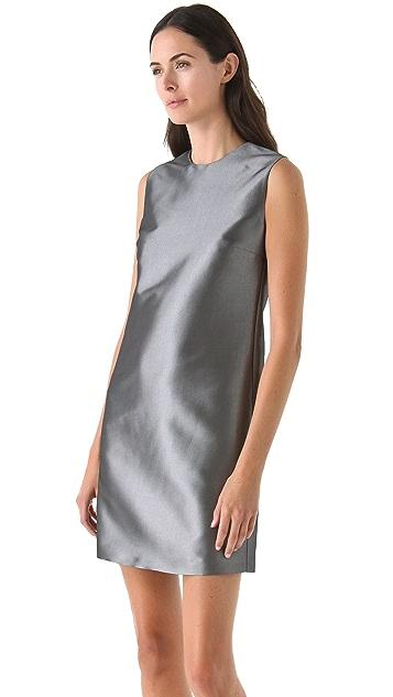 Calvin Klein Collection Metallic Sheath Dress