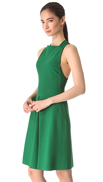 Calvin Klein Collection Gazsi Cross Back Dress