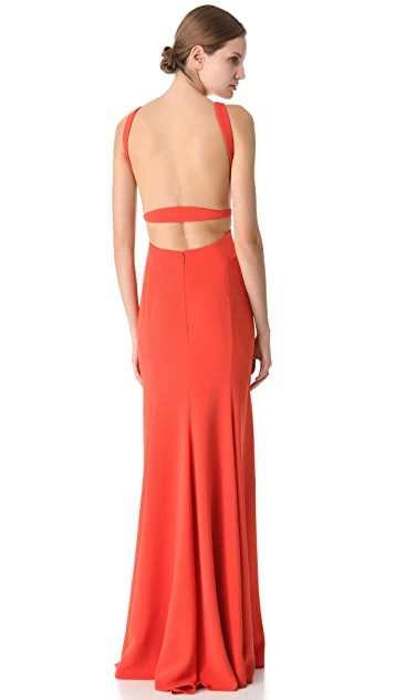Calvin Klein Collection Nyx Sleeveless Gown