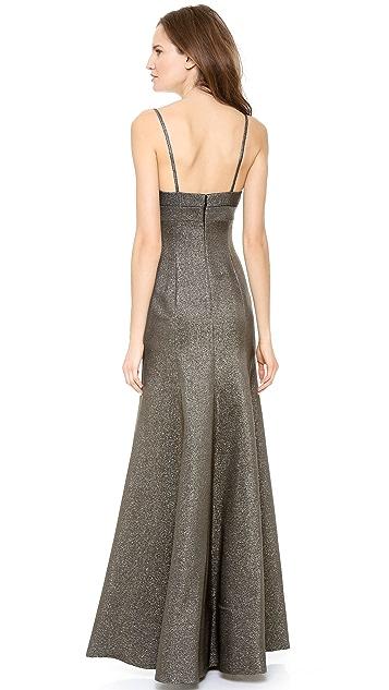 Calvin Klein Collection Sleeveless Gown