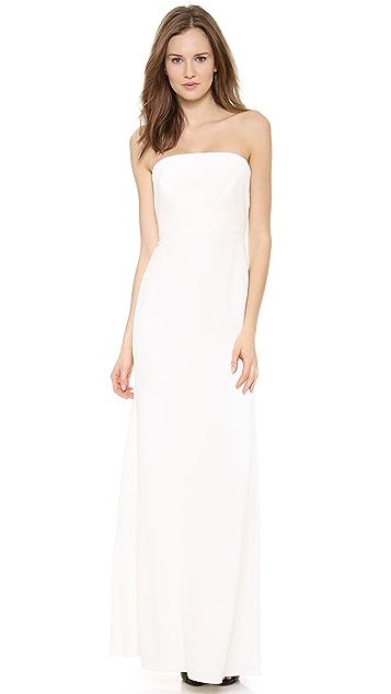 Calvin Klein Collection Strapless Gown
