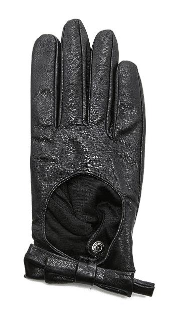 Carolina Amato Bow Moto Gloves