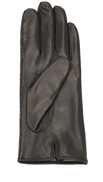 Carolina Amato Snake Vent Palm Gloves