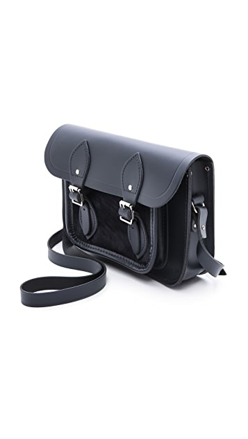 Cambridge Satchel 11'' Satchel With Haircalf Pocket