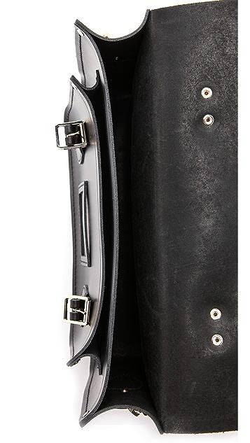 Cambridge Satchel Сумка-портфель диагональю 13дюймов с заклепками