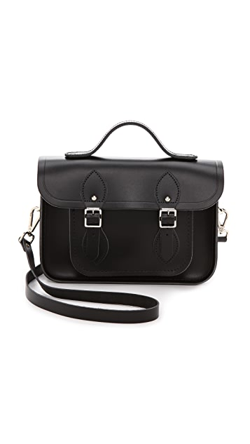 Cambridge Satchel Classic 11'' Satchel With Top Handle
