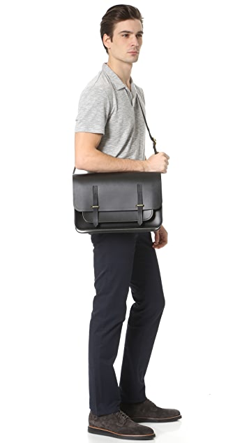 Cambridge Satchel Bridge Closure Messenger