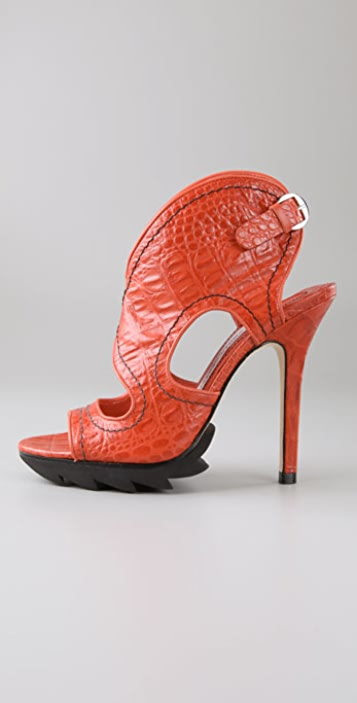 Camilla Skovgaard Cutout Booties with Lug Sole