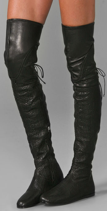 Camilla Skovgaard Flat Thigh High Boots