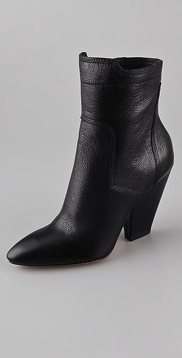 Camilla Skovgaard Cuban Heel Booties