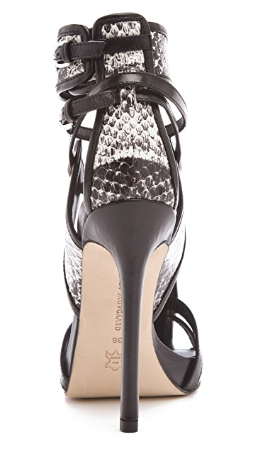 Camilla Skovgaard Panel Stiletto Sandals