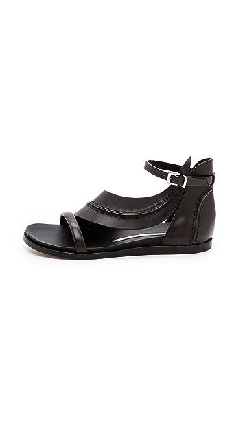Camilla Skovgaard Flat Leaf Sandals
