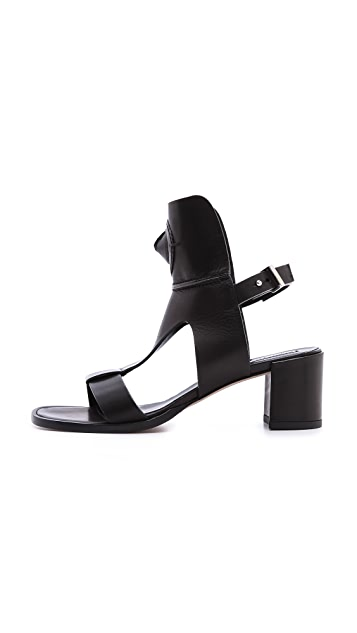 Camilla Skovgaard Cone T Bar City Sandals