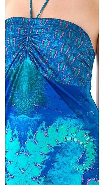 Camilla Tube Drawstring Cover Up Dress