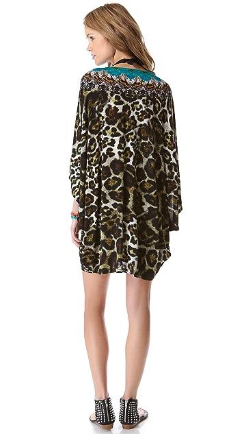 Camilla Bat Sleeve Cover Up Dress