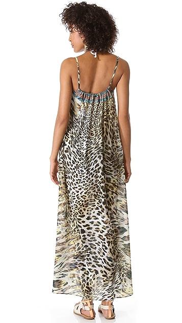 Camilla Beach House Azul Cover Up Dress