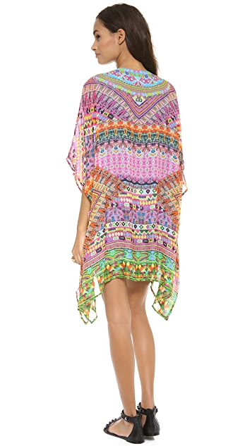 Camilla Short Lace Up Kaftan