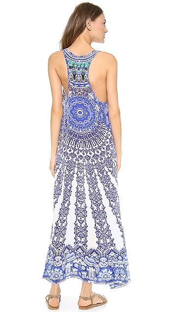 Camilla V Racer Back Dress