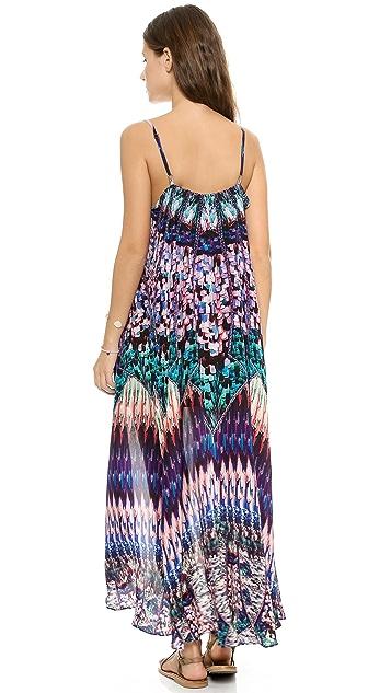 Camilla Mini Dress with Long Overlay