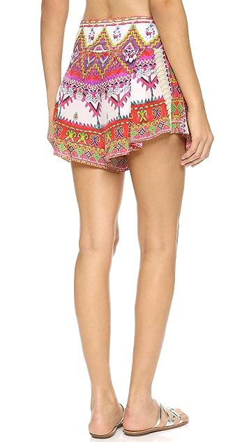 Camilla Cover Up Shorts with Sash