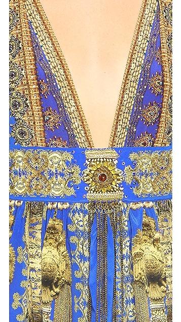 Camilla La Chaquetilla Dress with Tie