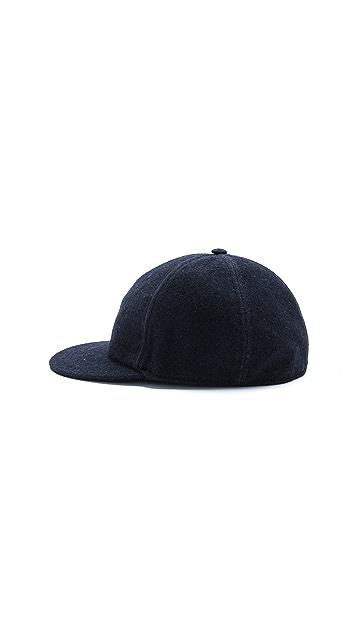 CAMO New York Wool Baseball Cap