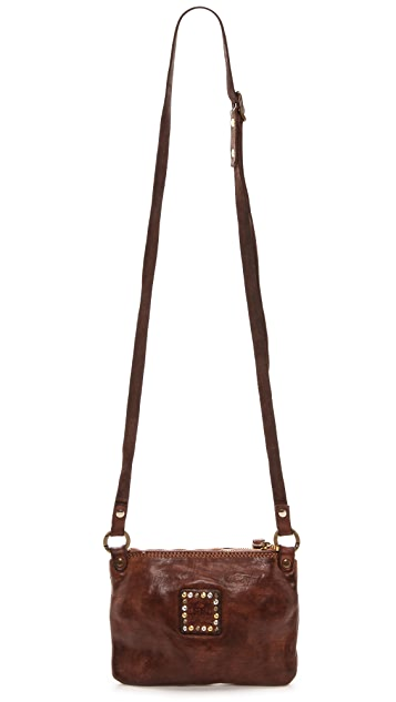 Campomaggi Studded Cross Body Pouchette