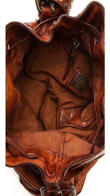 Campomaggi Studded Bucket Bag