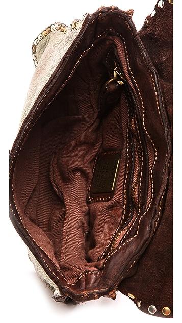 Campomaggi Laminated Leather Shoulder Bag